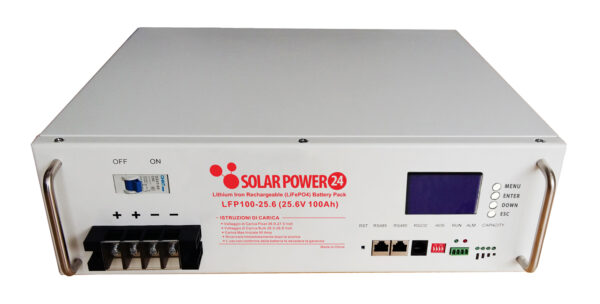 SolarPower24 – LFP100-25.6